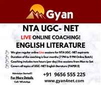 Gyan UGC NET English Coaching and Study Material