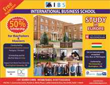 International Business School Organizing Scholarship Test in India
