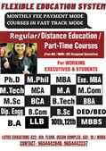 BTECH MTEC DIPLOMA ADMISSION REGULAR PART TIME in Noida Sector 18