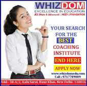 Top Medical and JEE coaching institute in Delhi
