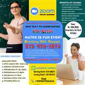 Vedic Maths Online Classes at Just Rs. 999