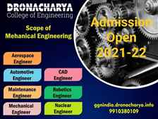 Does mechanical engineering have scope in future