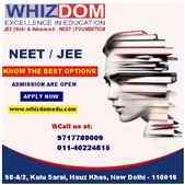 Medical and JEE coaching institute in Delhi NCR
