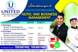 Hotel and Business Management colleges in Vijayawada