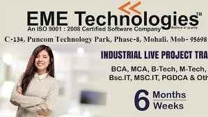6 Months Free Industrial Training in Chandigarh