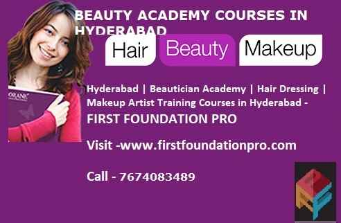 Beauty Makeup Academy Courses in Hyderabad  First Foundation Pro