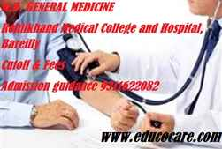 Rohilkhand Medical College and Hospital Bareilly or Saraswati Institute of Medical Sciences Hapur  2020 2021 M.D. GENERAL MEDICINE fees and Cutoff