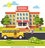 school-building-bus-front-yard-450w-322015064